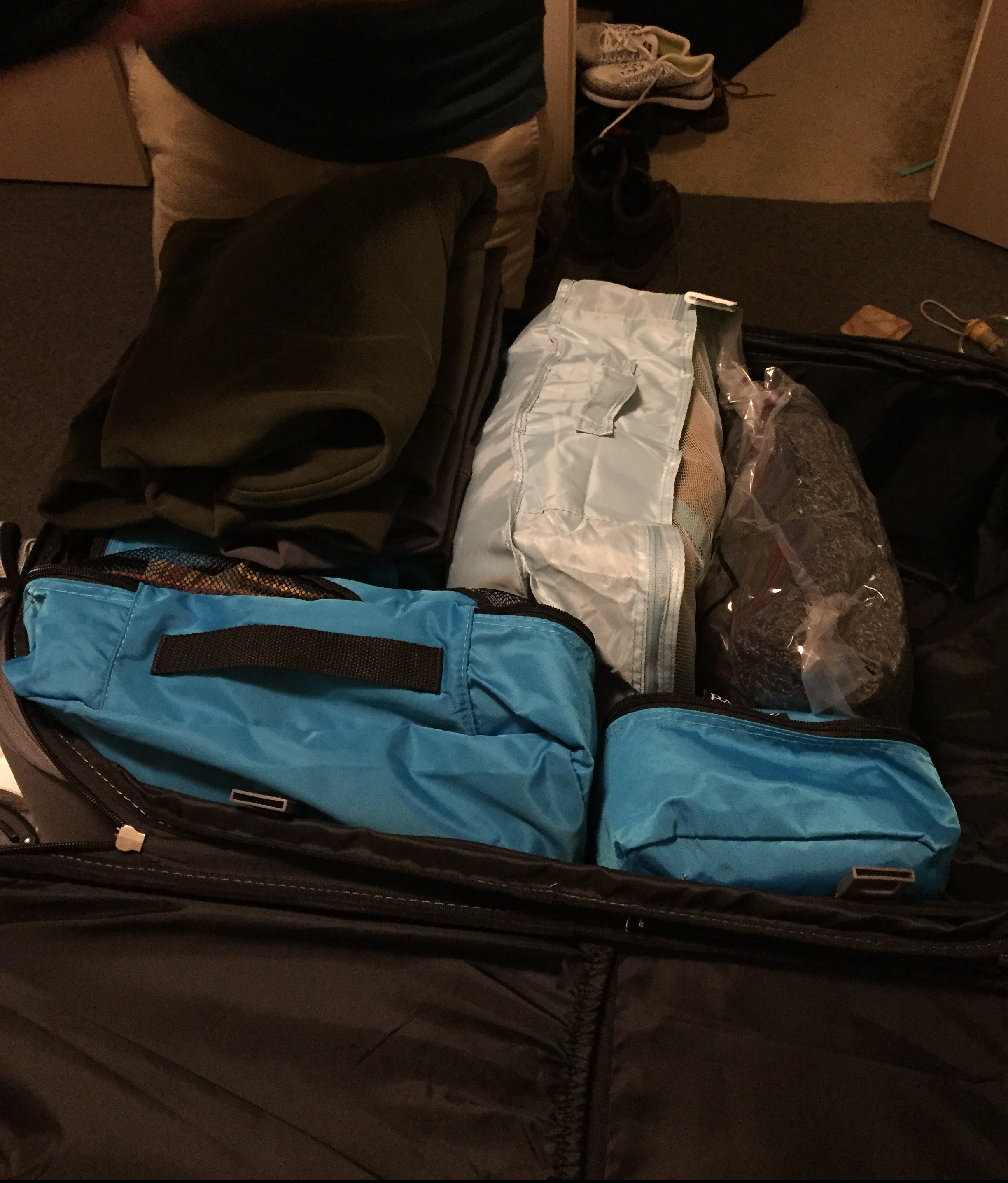 Packing for Ukraine