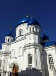 St. Michael's Cathedral near city center, on Mykhailivska Street