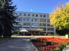 Zhytomyr Library, where Jess has TEFL trainings