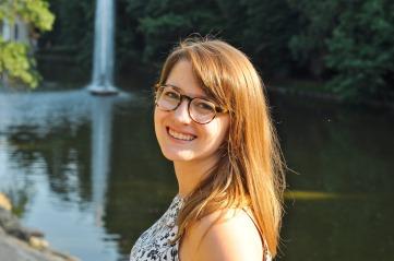 Jess in Sofiyivka National Park