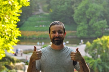 Chris in Sofiyivka National Park